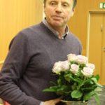 Hannu Lindroth valittiin Vuoden puutarhuriksi.
