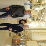 Jyrki Leppälä (vas.) ja Juha Hemminki ovat investoineet Riihimäen tuotantolaitokseen liki 5 miljoonaa euroa.