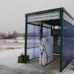 Kalmarin maatilalla on Suomen pohjoisin biokaasun myyntiasema. Siitä myydään 150 000 bensalitraa vastaava määrä biokaasua vuodessa.